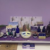Neal's Yard Products on offer. Come in for more details